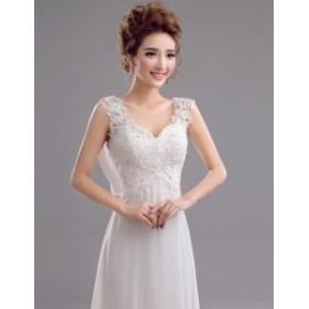 ウエディングドレス レース 花嫁 人気 ドレス お呼ばれ 被らない