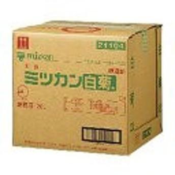 調味料 醸造酢 白菊 業務用 Mコックなし 20L 1 個 ミツカン