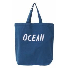カラフルミニトート OCEAN ブルー トートバッグ 小さめ レディース メンズ ミニトートバッグ
