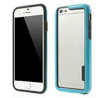 【iPhone 6s / iPhone 6】 iPhone6s ケース / iPhone6 ケース 4.7 inch 超薄型軽量 バンパーケースカバー ブルー 1 電化製品