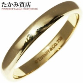 35a9d17a0568 ティファニー K18YG ルシダ ウェディングバンドリング(幅3ミリ) 指輪(リング) メンズ