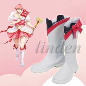 [linden]  魔法少女 俺 まほうしょうじょ おれ 卯野さき  うのさき  変身後 風 コスプレ靴 コスプレブーツ 高品質 激安 通販