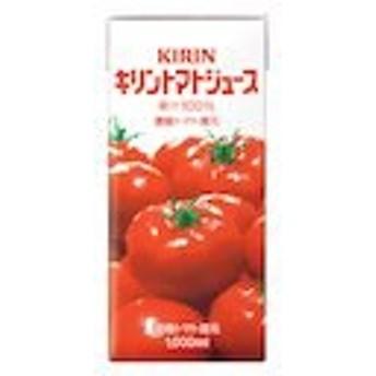 野菜ジュース トマトジュース 1L パック 6 本 ( 6 本 1 ケース ) キリン