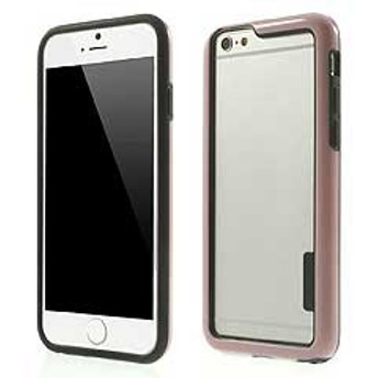 【iPhone 6s / iPhone 6】 iPhone6s ケース / iPhone6 ケース 4.7 inch 超薄型軽量 バンパーケースカバー ピンク 2 電化製品