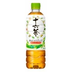 お茶 十六茶  500ml ペットボトル 24 本  ( 24 本    1 ケース ) アサヒ