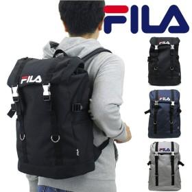【ノベルティ付き】送料無料 FILA(フィラ) ラウンド 被せリュック デイパック バックパック リュックサック B4 メンズ レディース 7557