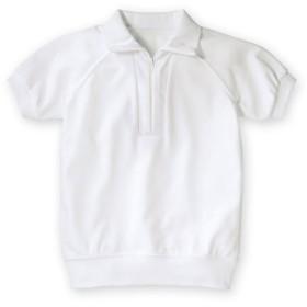 吸汗速乾。抗菌防臭。UVカット。衿付。半袖 体操服シャツ 体操服