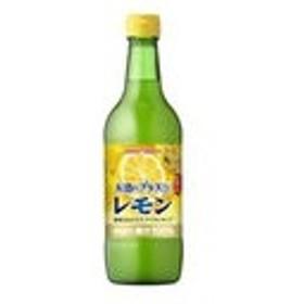 シロップ お酒にプラス レモン 540ml 瓶 12 本  ( 12 本    1 ケース ) ポッカサッポロ