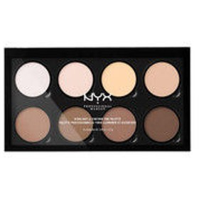 NYX Professional Makeup(ニックス) ハイライト&コントゥアー プロ パレット 1