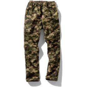 迷彩柄ストレッチツイルストレートパンツ(男の子。女の子 子供服。ジュニア服) パンツ