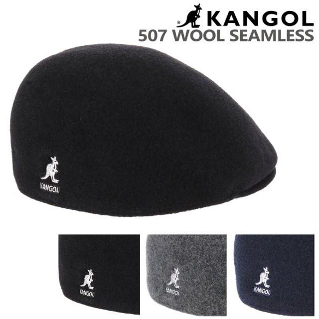 最大39%!カンゴール ハンチング シームレスウール 507 レディース メンズ 187169002 KANGOL 帽子