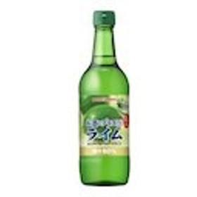 シロップ お酒にプラス ライム 540ml 瓶 12 本  ( 12 本    1 ケース ) ポッカサッポロ