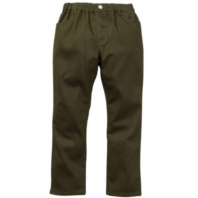 【もっとゆったりサイズ】ストレッチツイルストレートパンツ(男の子 子供服。ジュニア服) パンツ