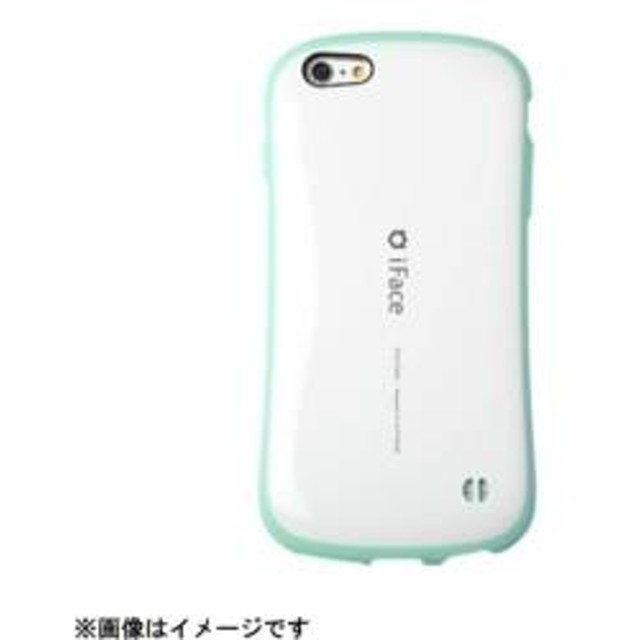 iPhone 6s/6用 iFace First Class Pastel ケース ホワイト/ミント