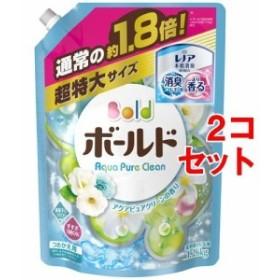 ボールド 洗濯洗剤 フレッシュピュアクリーンの香り 詰替え用 超特大サイズ(1.26kg2コセット)[柔軟剤入り洗濯洗剤つめかえ用(液体)]