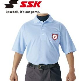 メール便対応 エスエスケイ SSK 野球 審判用半袖ポロシャツ UPW027-65