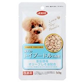 【最安値に挑戦】デビフ 愛犬のトイプードルに配慮 50g 【犬 パウチ 国産 被毛の健康に配慮 総合栄養食 d.b.f】