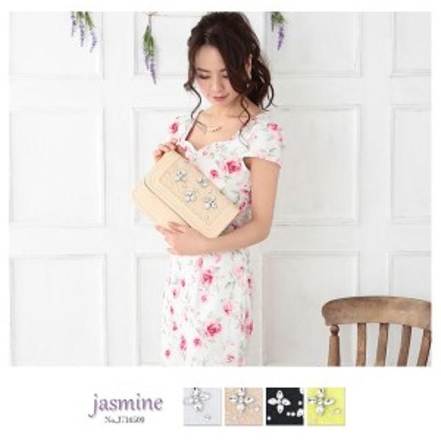 パール&ビジューデコレース ショルダーバッグ Jasmine バッグ J716509 パーティーバッグ Artmarry 結婚式 キャバ レディース