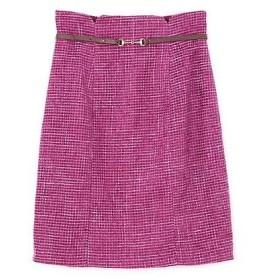 PROPORTION BODY DRESSING / プロポーションボディドレッシング  ベルト付きモールプリペラタイトスカート