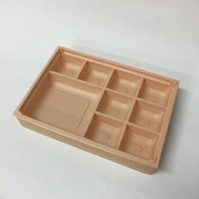 【高級弁当】ワン折重 81×55杉/HIV底/共蓋 (400セット)