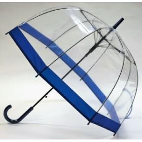【送料無料】レディース傘 バードケージ ネイビー 60cm 親骨は軽くて折れにくいグラスファイバー使用 CFDLK-004-3 Cafe dimly かさ カサ