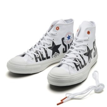 【CONVERSE】 コンバース ALL STAR 100 BIGLOGO SP HI オールスター 100 ビッグロゴ SP ハイ 32962200 ABC-MART限定 WHITE 5(24cm)