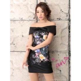 an ドレス ANドレス AOC-2400 【Andy ANDY】 ミニドレス ワンピース 送料無料 パーティードレス クラブ キャバ ドレス
