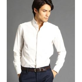 ムッシュニコル コーデュロイスタンドカラーシャツ メンズ 09ホワイト 50(LL) 【MONSIEUR NICOLE】