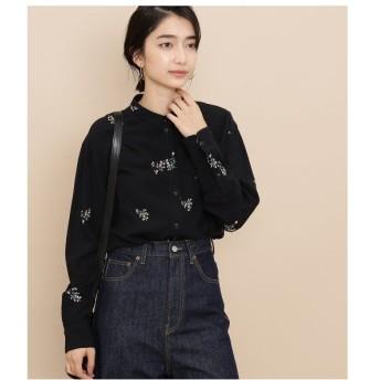 ADAM ET ROPE' / アダム エ ロペ 【sacrecoeur】 Dot/Flower print shirt