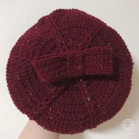 在庫処分SALE‼️(頭位52センチ位)女の子ベレー帽