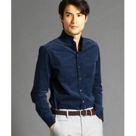 ムッシュニコル コーデュロイスタンドカラーシャツ メンズ 60ブルー 48(L) 【MONSIEUR NICOLE】