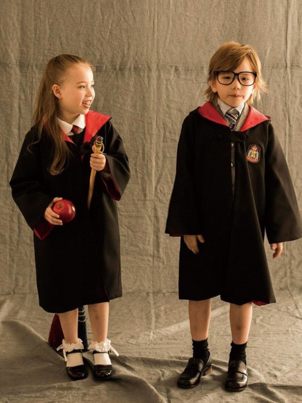 魔法学校の生徒さん衣装