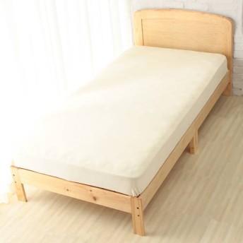 【HOME COORDY】あたたかベッド用ワンタッチシーツ ベージュ セミダブル