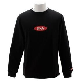 SLYDE(SLYDE) ロングスリーブTシャツ sl2018081002-BLK (Men's)