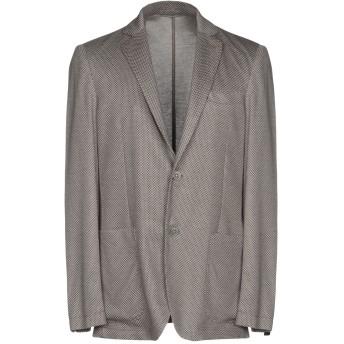 《期間限定セール開催中!》AT.P.CO メンズ テーラードジャケット グレー 46 100% コットン