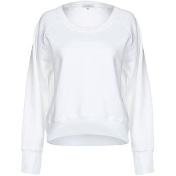 《期間限定セール開催中!》CROSSLEY レディース スウェットシャツ ホワイト XS 100% コットン