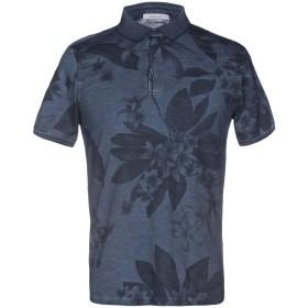 《送料無料》HAMAKI-HO メンズ ポロシャツ ブルーグレー S 100% コットン