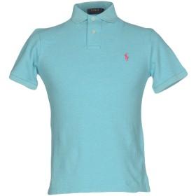 《セール開催中》POLO RALPH LAUREN メンズ ポロシャツ パステルブルー S コットン 100%