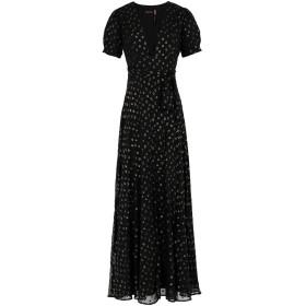 《セール開催中》FREE PEOPLE レディース ロングワンピース&ドレス ブラック 0 ポリエステル 100% WANDERER MAXI