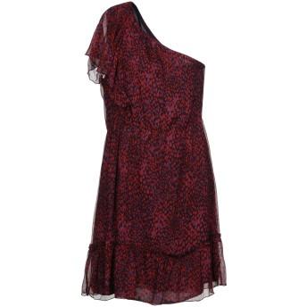 《セール開催中》ANNA SUI レディース ミニワンピース&ドレス レッド 10 シルク 100%
