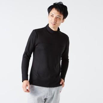 MIZUNO SHOP [ミズノ公式オンラインショップ] ハイネック長袖シャツ[メンズ] 09 ブラック B2JA8504