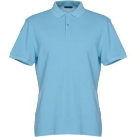 《期間限定 セール開催中》AT.P.CO メンズ ポロシャツ スカイブルー M 95% コットン 5% ポリウレタン