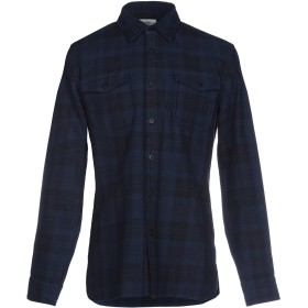 《セール開催中》KENT & CURWEN メンズ シャツ ブルー XS 100% コットン