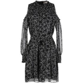 《セール開催中》MICHAEL MICHAEL KORS レディース ミニワンピース&ドレス ブラック L ポリエステル 100%