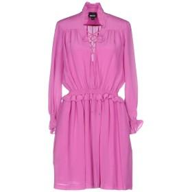 《送料無料》JUST CAVALLI レディース ミニワンピース&ドレス ライトパープル 42 シルク 100%