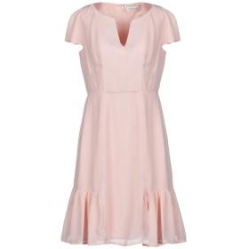《期間限定 セール開催中》BY MALINA レディース ミニワンピース&ドレス ピンク XS ポリエステル 100%