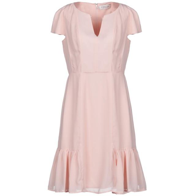 《期間限定セール開催中!》BY MALINA レディース ミニワンピース&ドレス ピンク XS ポリエステル 100%