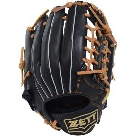 野球 少年軟式グローブ JR ナンシキグラブGH ジュニア ZETT (ゼット) BJGB72880-1936 ブラック/オ-クB1936