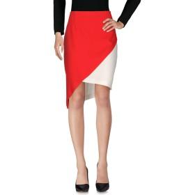 《セール開催中》MANGANO レディース ひざ丈スカート レッド 44 ポリエステル 100%