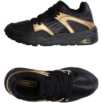 《期間限定 セール開催中》PUMA レディース スニーカー&テニスシューズ(ローカット) ブラック 3.5 紡績繊維 / 革